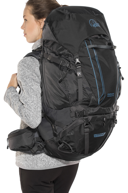 4eb720ad77e Lowe Alpine Diran ND50:60 rugzak Dames zwart l Online outdoor shop ...